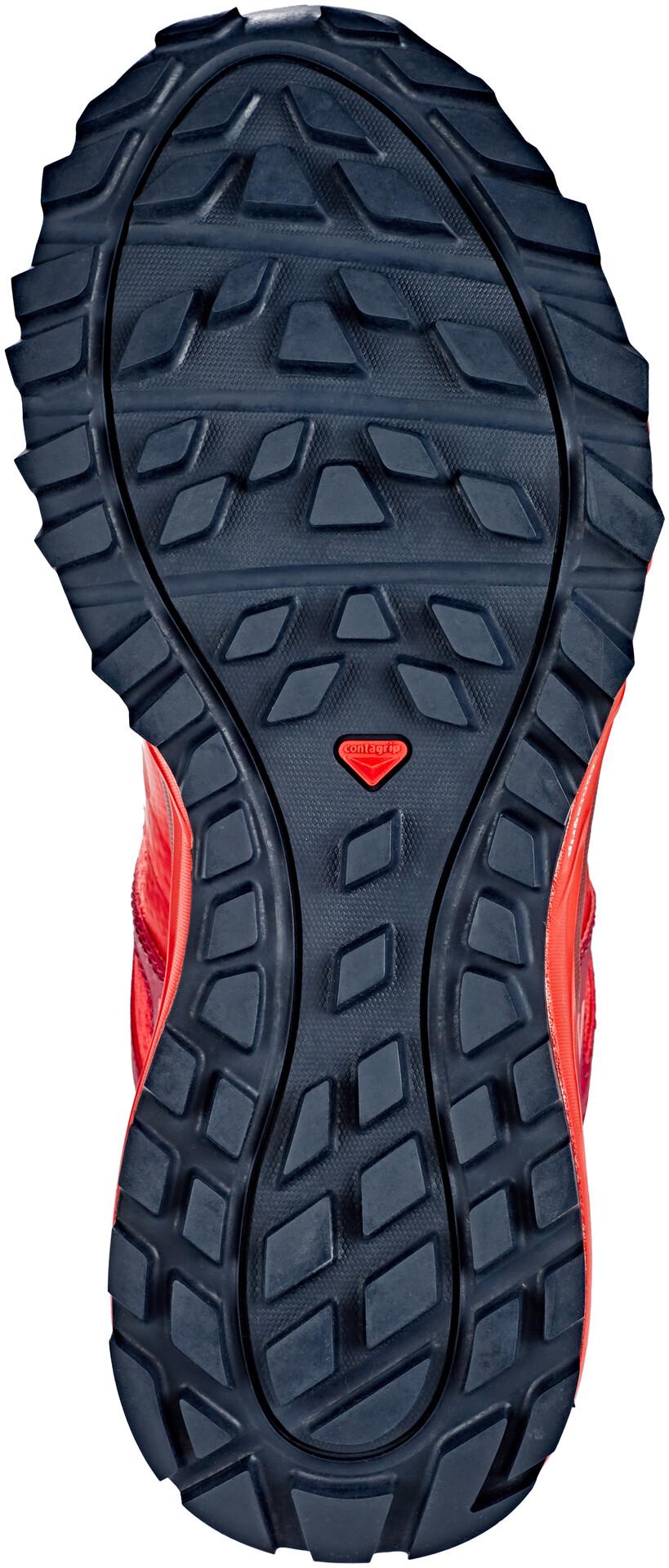 Salomon Trailster GTX Shoes Damen hibiscusbeet redgraphite